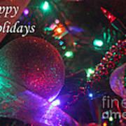 Ornaments-2130-happyholidays Poster