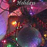 Ornaments-2143-happyholidays Poster
