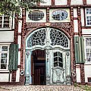 Ornate German Door Poster