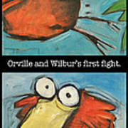 Orville And Wilburs First Flight Poster