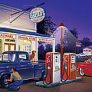 Oscar's General Store Poster