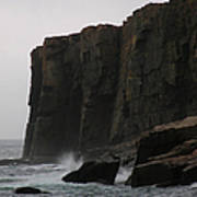 Otter Cliff Poster