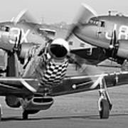 Our American Friends - Mustang And C-47 Troop Carriers Poster