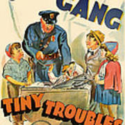 Our Gang Vintage Movie Poster 1930s Poster