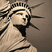 Our Lady Liberty Poster