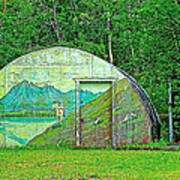 Our Lady Of The Way Quonset Hut Chapel In Haines Junction-yt Poster