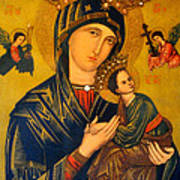 Our Mother Of Perpetual Help Rome Poster