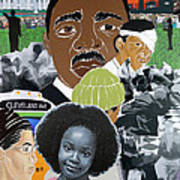 Our Recent Past Revisited - Hope Poster by Martha Rucker