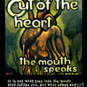 Out Of The Heart Poster by Patricia Howitt