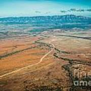 Outback Flinders Ranges Poster