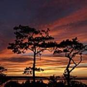 Outer Banks Sunset Poster