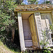 Outhouse For Two Poster