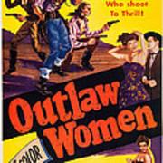 Outlaw Women, Top Left Center Marie Poster