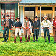 Outlaws Or Lawmen Poster