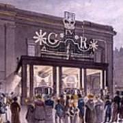 Outside The Theatre Royal, Drury Lane Poster