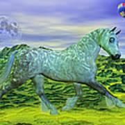 Over Oz's Rainbow Poster