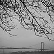 Over The Bridge Poster by Richie Stewart