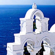 Overlooking Aegean Poster
