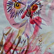 Owl In The Fresh Air Poster