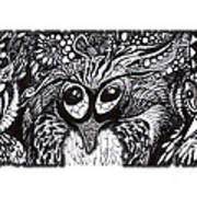 Owls Eyes Poster