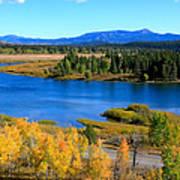 Oxbow Bend, Grand Teton National Park Poster