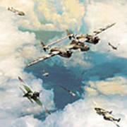 P-38 Lighting Poster