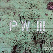 P W Poster