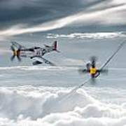 P51 Mustang - Old Crow Poster