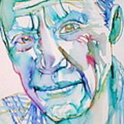 Pablo Picasso- Portrait Poster by Fabrizio Cassetta