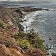 Pacific Coast Storm Clouds Poster