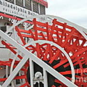 Paddle Wheel Poster