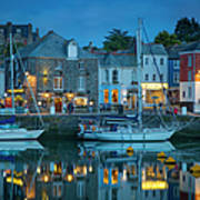 Padstow Twilight Poster