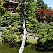 Pagoda On The Lake Poster