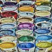 Paint Cans Poster
