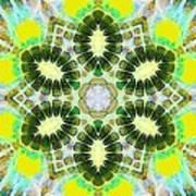 Painted Cymatics 181.66hz Poster