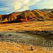 Painted Hills Sunset Poster