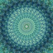 Painted Kaleidoscope 7 Poster