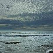 D3a6136-painted Sky Bolinas Ca  Poster