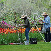 Painting Springtime  Poster