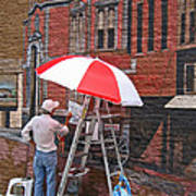 Painting The Past Poster