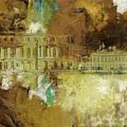 Palace And Park Of Versailles Poster