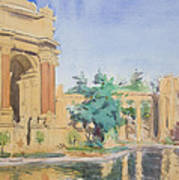 Palace Of Fine Arts Poster