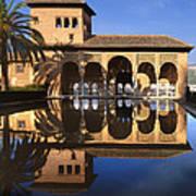 Palacio Del Partal La Alhambra Poster
