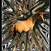 Pale Horse Poster by Aidan Moran