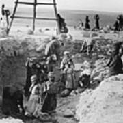 Palestine Archeology Poster