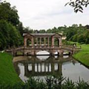 Palladian Bridge At Prior Park Landscape Garden Poster