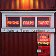 Palm And Tarot Readings On Monterey Cannery Row California 5d25166 Poster