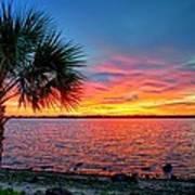 Palm Beach Sunset Poster