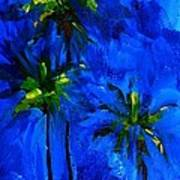 Palm Trees Abstract Poster by Patricia Awapara