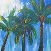 Palm Trio Poster